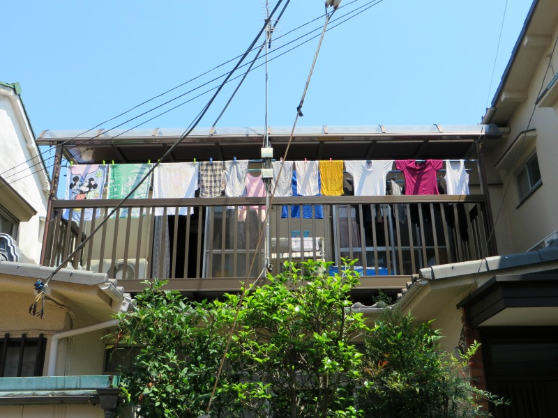 Hanging Laundry Tokyo