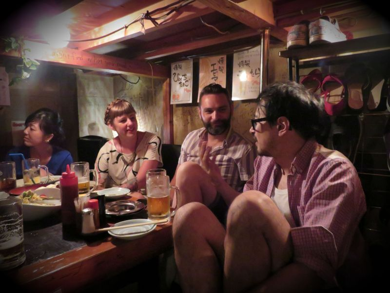 Izakaya drinking tokyo