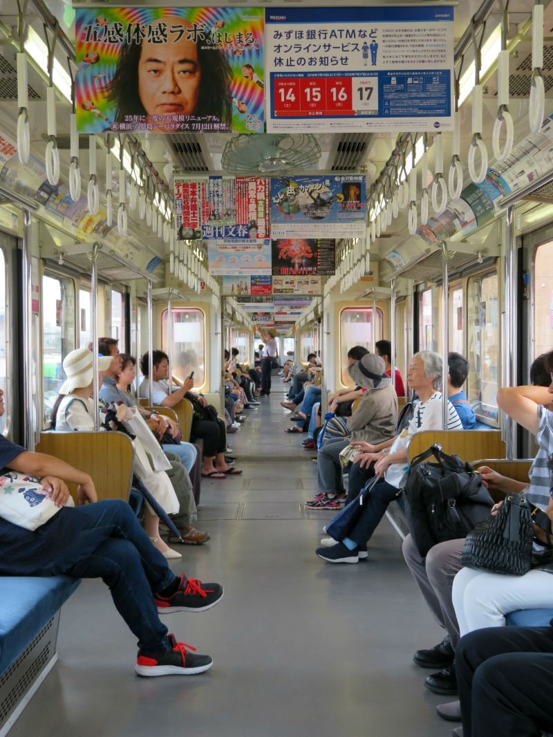 Local train tokyo