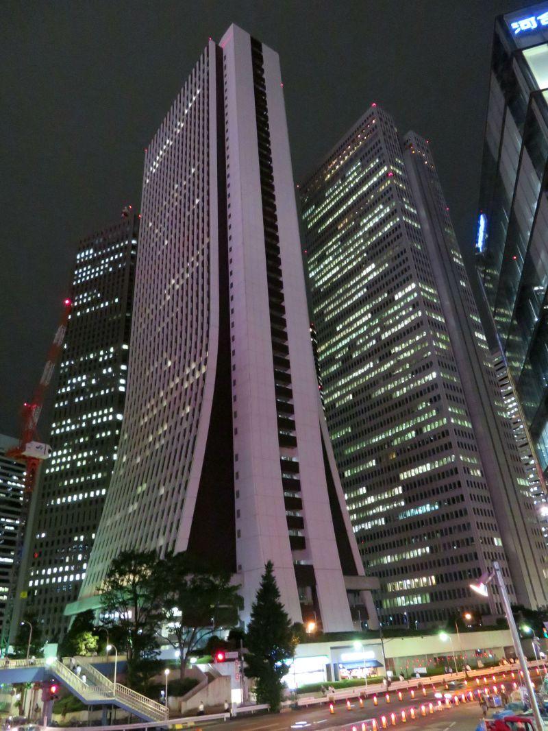 Skyscraper Tokyo Japan