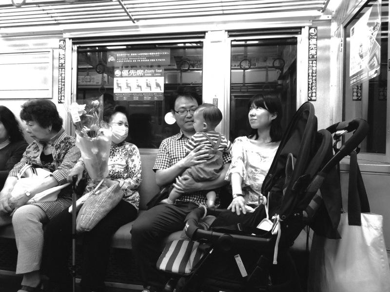 Train Commute Tokyo