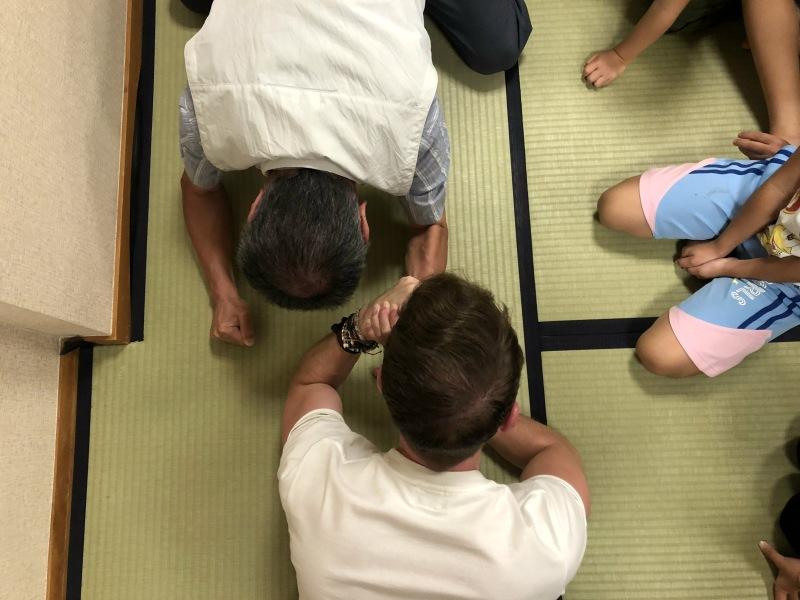 Arm wrestling fun japan