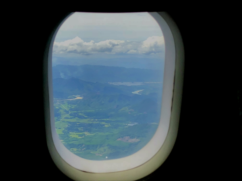 Arrival into Danang