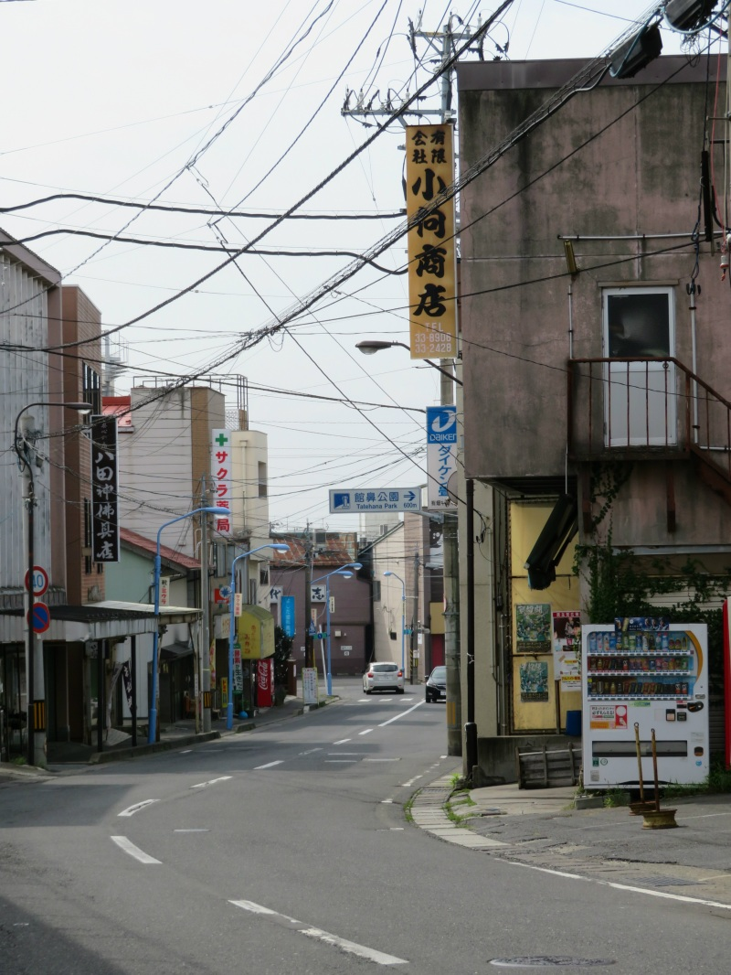 Hachinohe quiet street
