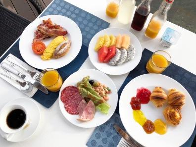 Melia Danang breakfast Vietnam2