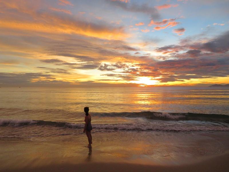 Melia Danang Vietnam sunrise 3