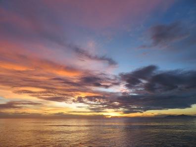 Melia Danang Vietnam sunrise