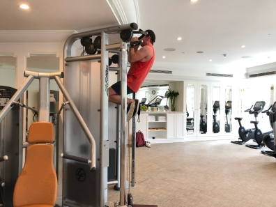 Park Hyatt Saigon gym