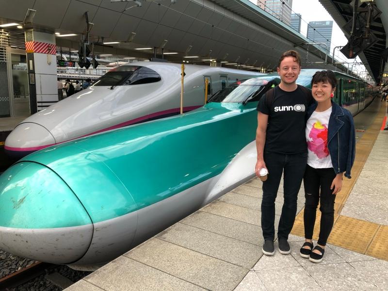 shinkansen Tokyo to Hachinohe