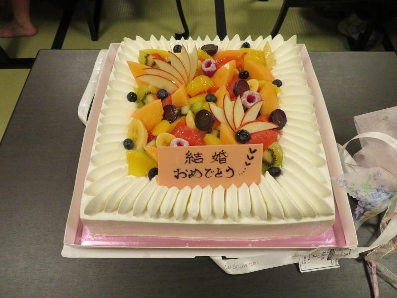 wedding cake Japan