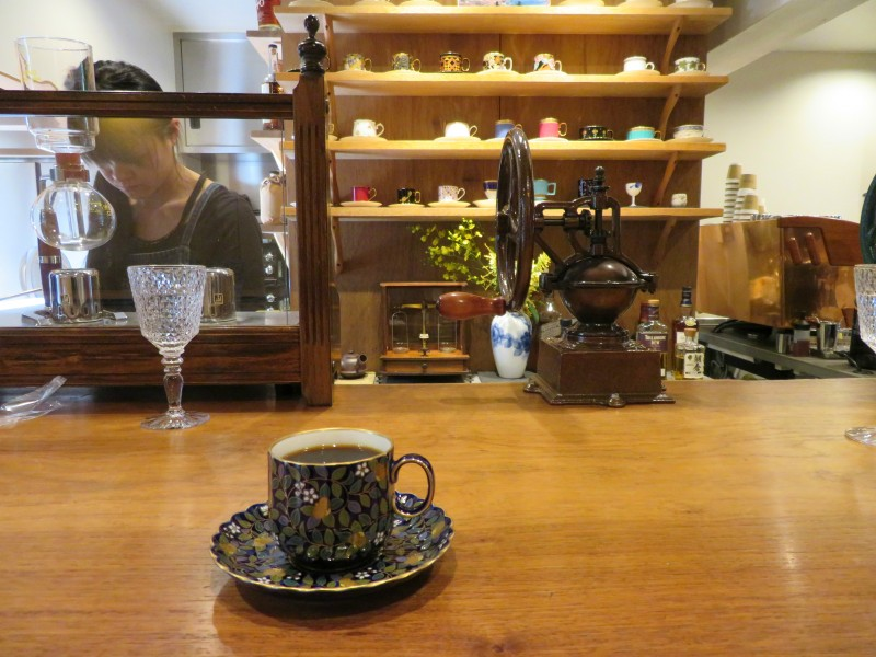 Quirky coffee shop tokyo
