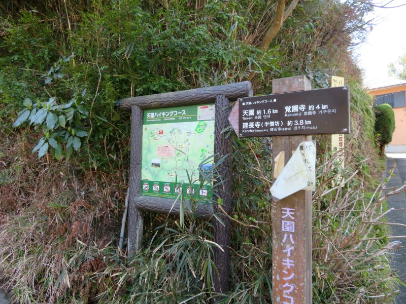 Ten-en hiking trail kamakura 8