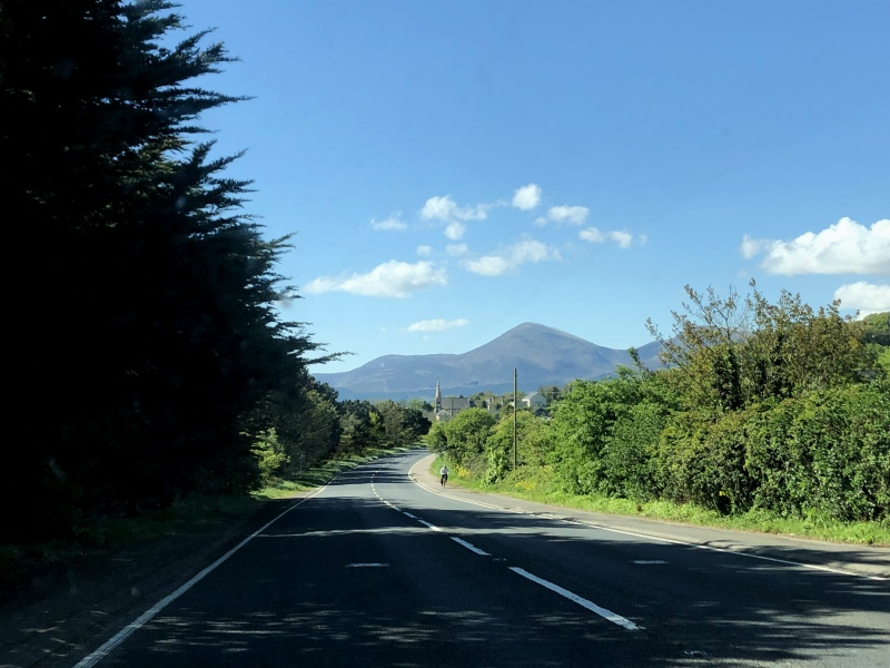 Driving to the Mounr Mountains