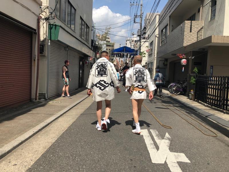 Festival walking Tokyo