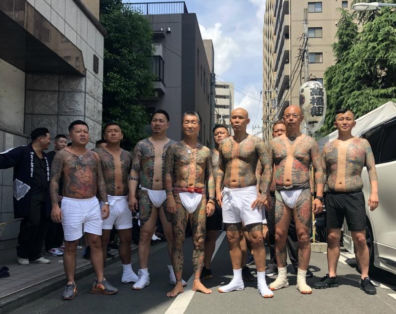 Sanja Matsuri Yakuza 2019 2