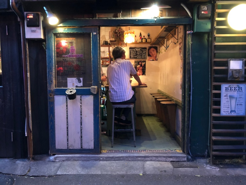 Shibuya backstreet bar