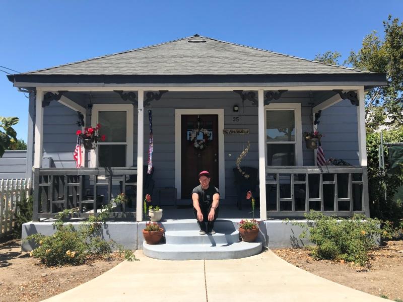Cute house, California