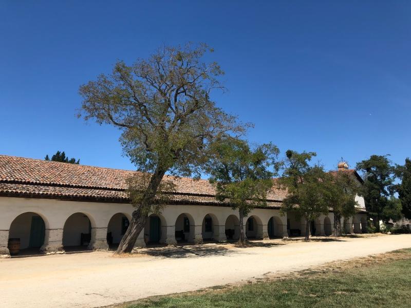 Mission San Juan Bautista Vertigo