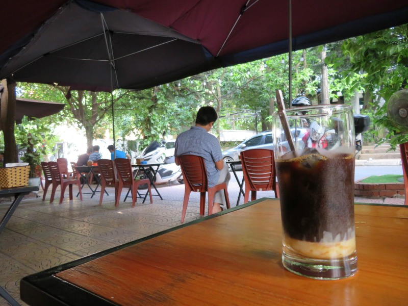 Coffee vietnam street road Hanoi