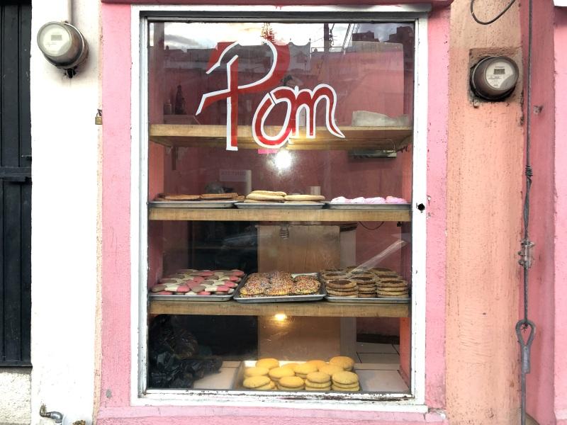 Guanajuato Mexico bakery