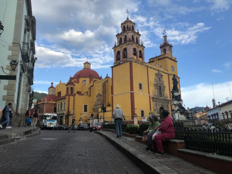 Guanajuato Mexico church
