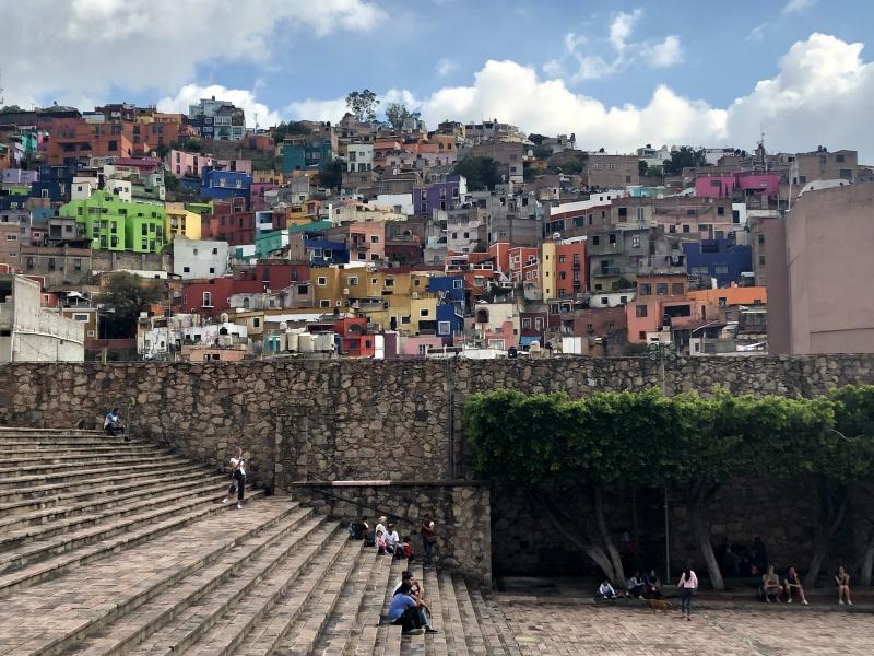 Guanajuato Mexico colourful cityscape