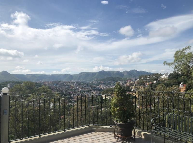 Guanajuato Mexico hills view