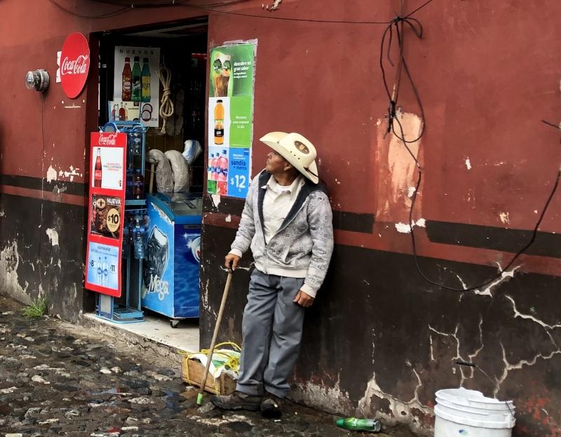 Guanajuato Mexico man standing