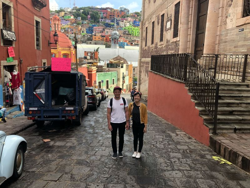 Guanajuato Mexico sterets