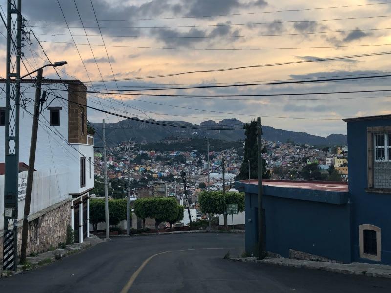 Guanajuato Mexico sunset