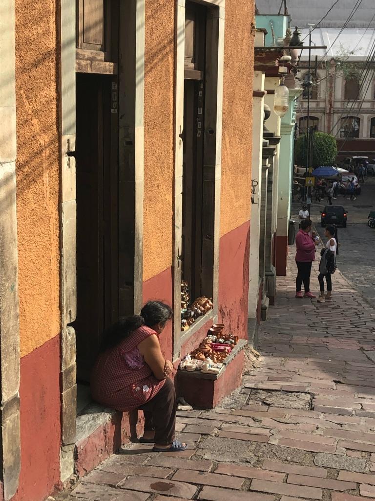 Guanajuato Mexico woman looking