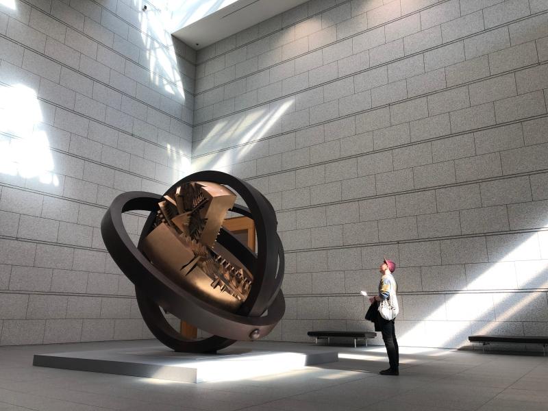 sculpture at MOT Tokyo art
