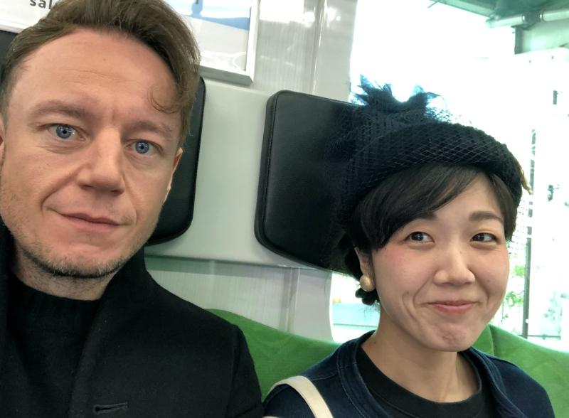 train journey toyoko line japan tokyo