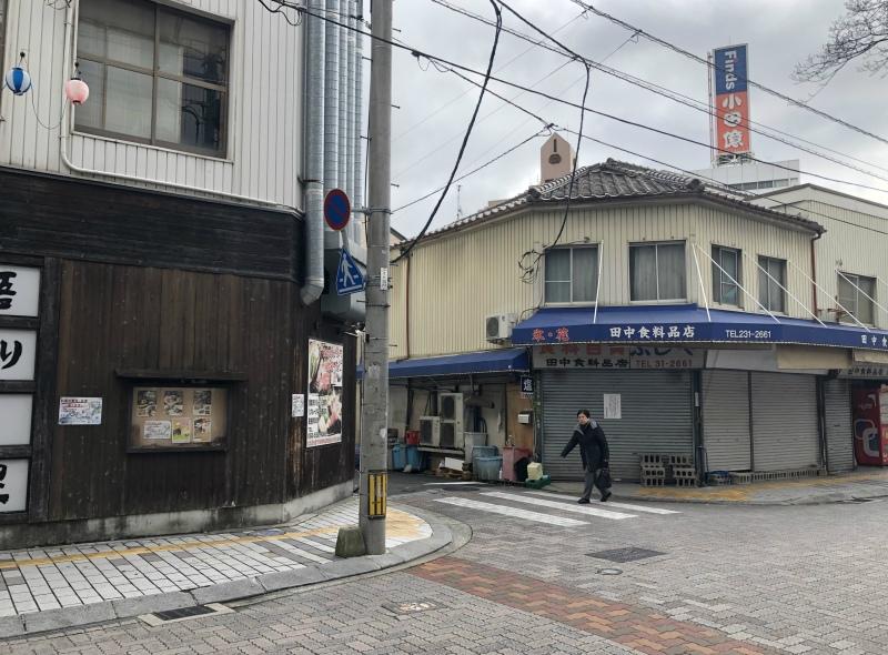 Hiroshima empty street