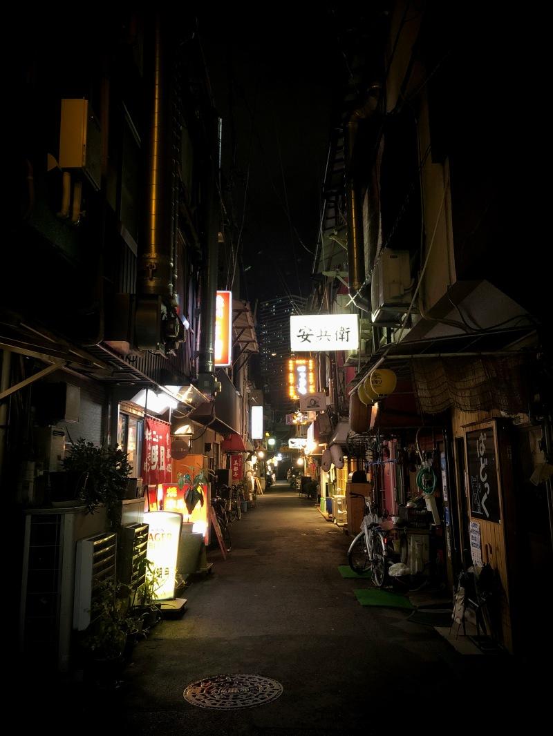 Hirshima backstreet 2 alleyway