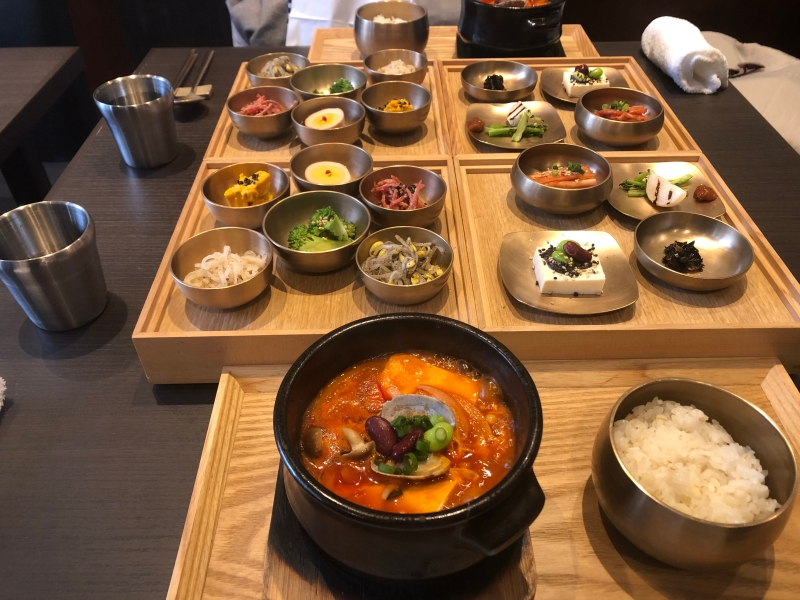Korean food in Hiroo