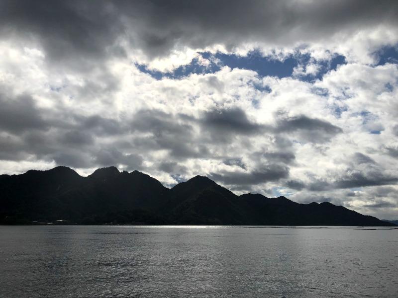 Miyjajima Hiroshima seascape