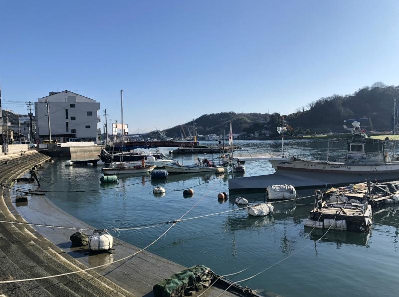 Onomichi harbour