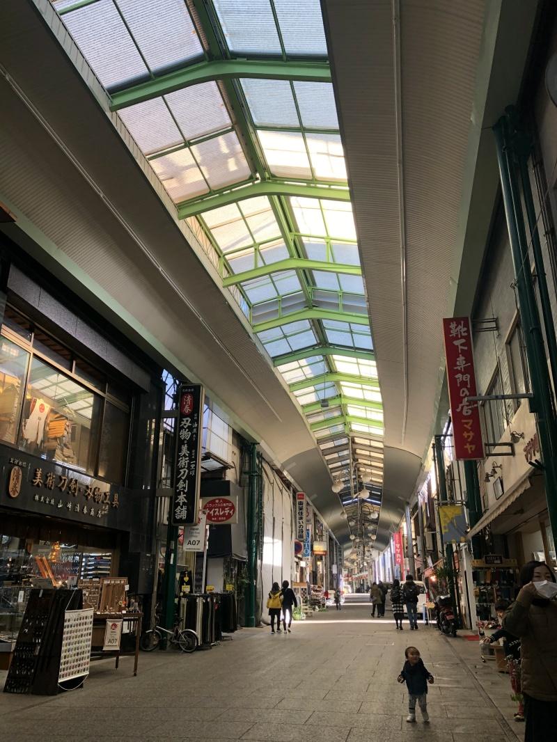Onomichi shotengai arcade