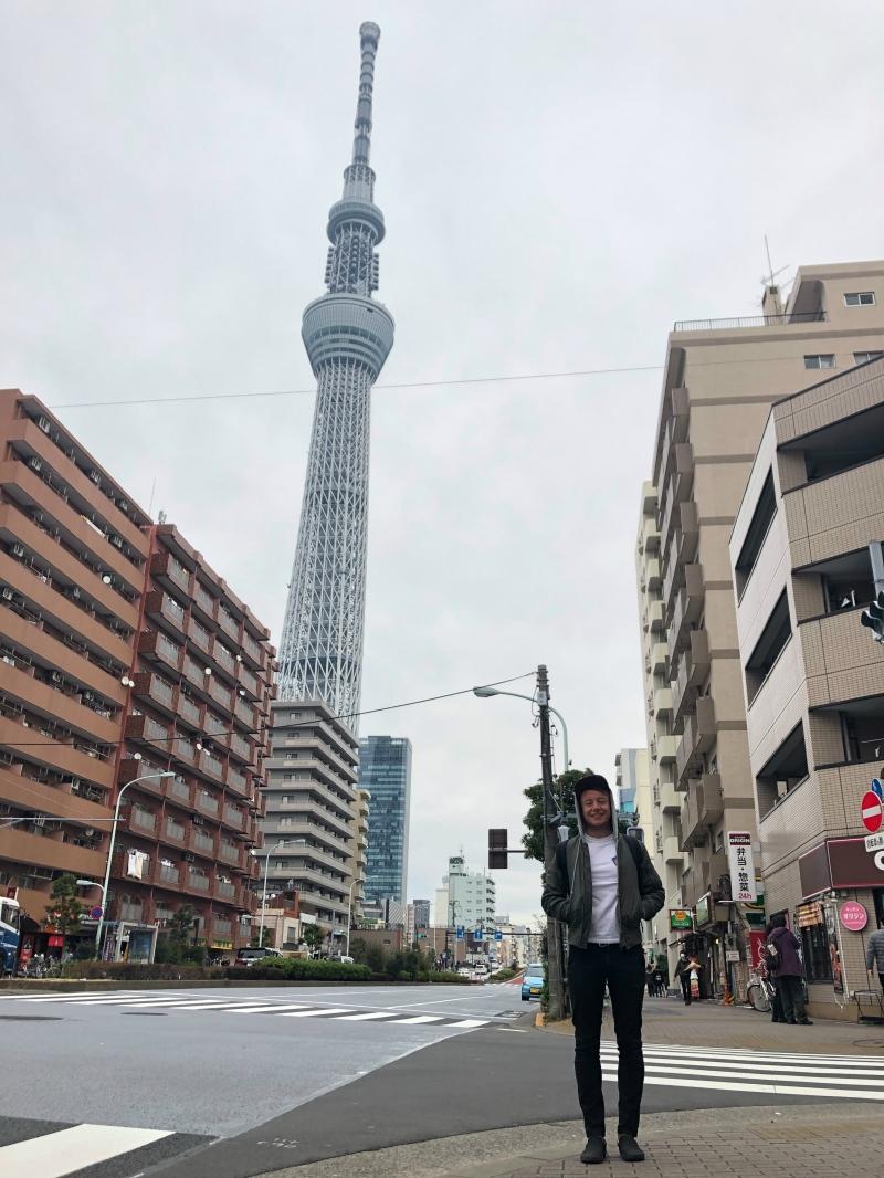 IKIMASHO skytree tokyo japan