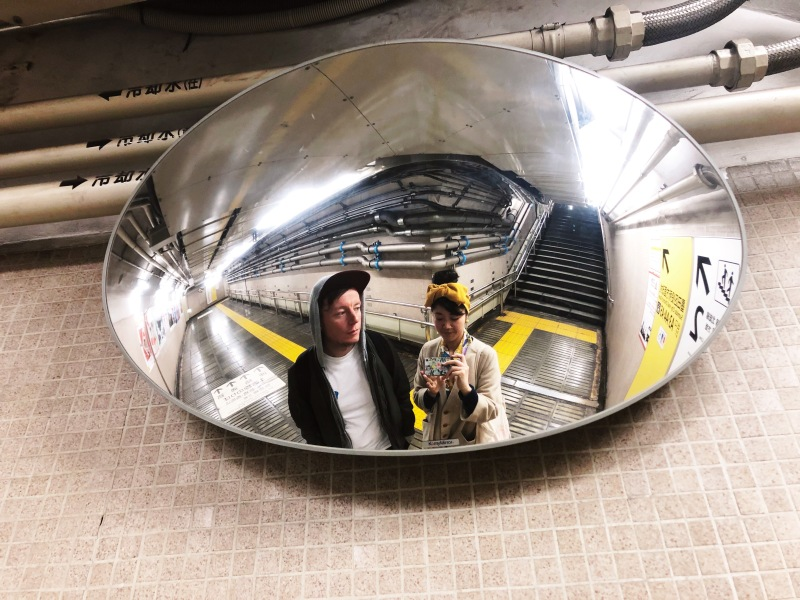 ikimasho tokyo japan subway