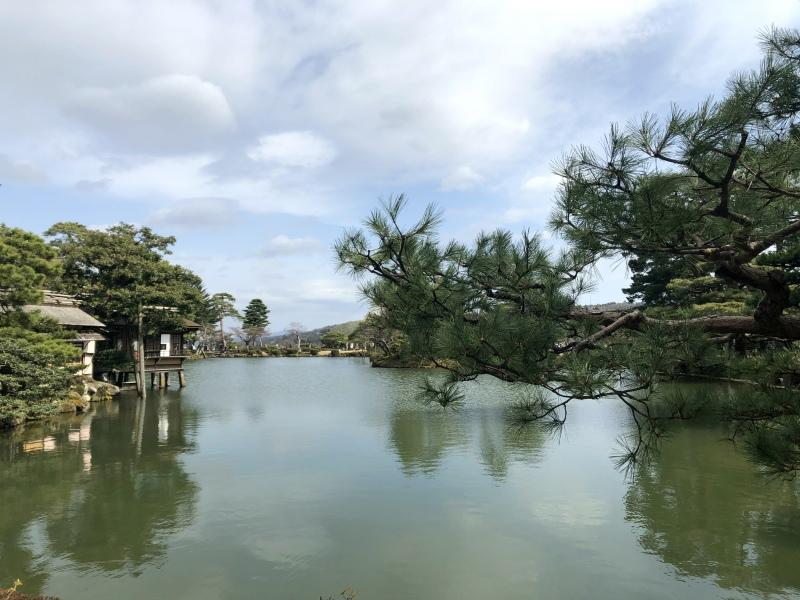 Kenrokuen, Kanazawa sunshine 3