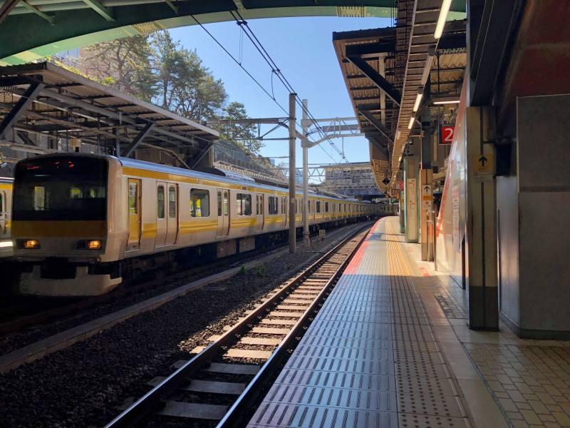 Nambu line Tokyo Kawasaki sun