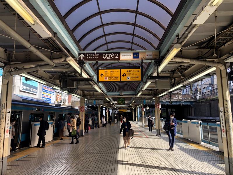 1. Kanazawa trip Oimachi station