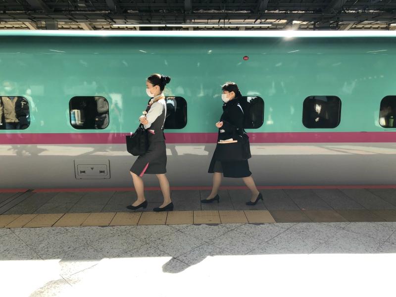 3. Kanazawa trip shinkansen 2