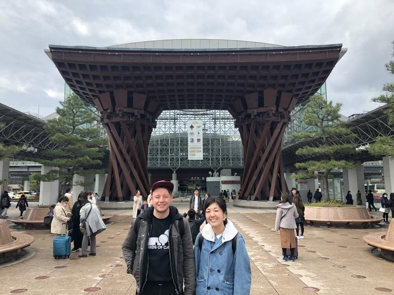 7. Kanazawa trip Kanaazawa station 2