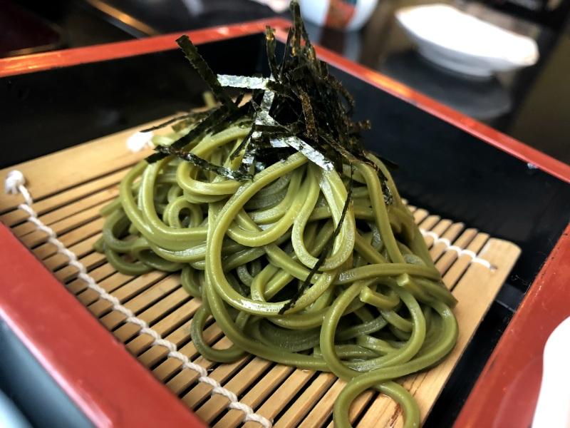 8. Kanazawa trip matcha chasoba