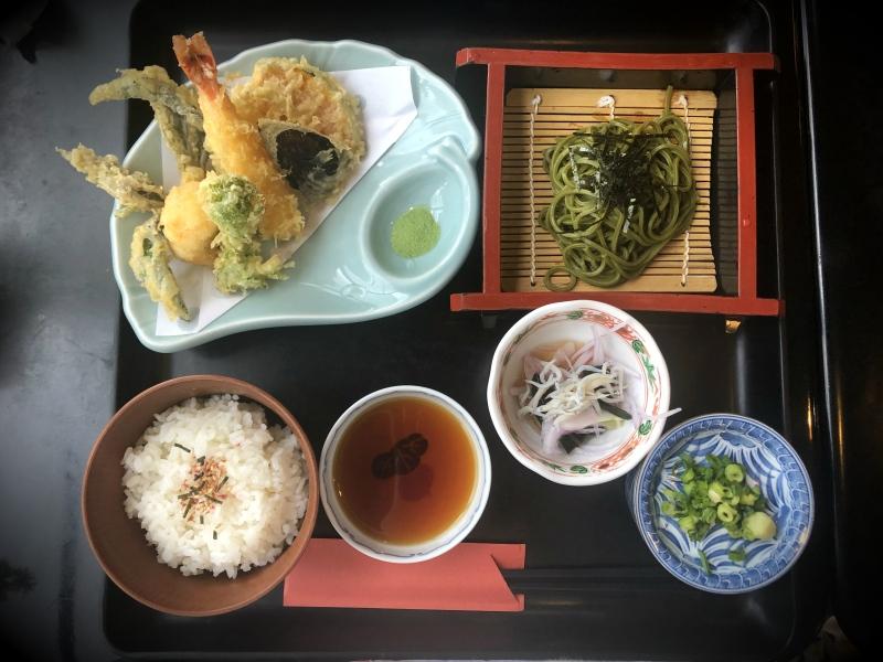 9 Kanazawa trip tempura lunch set
