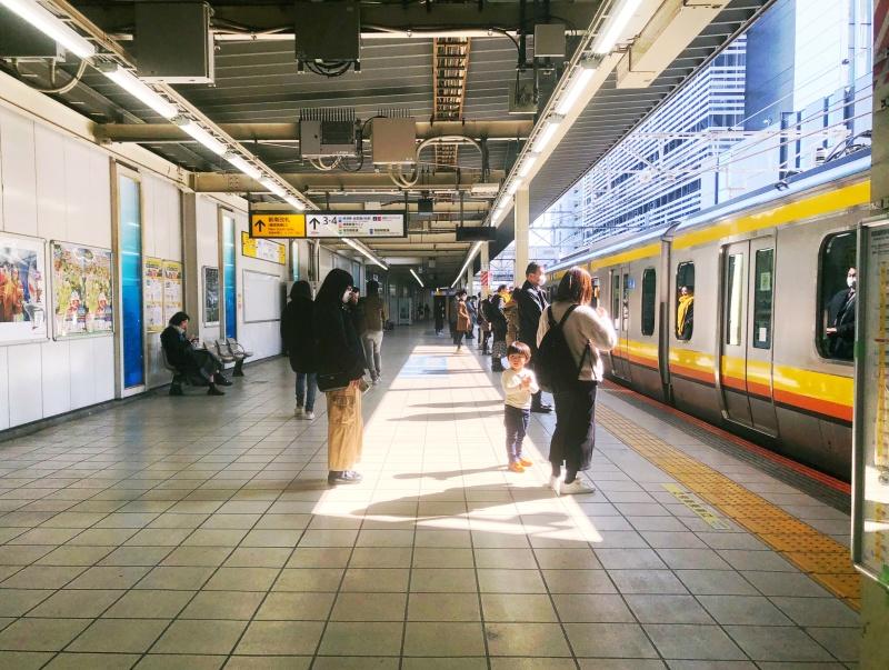 sunny rain platform tokyo kawasaki