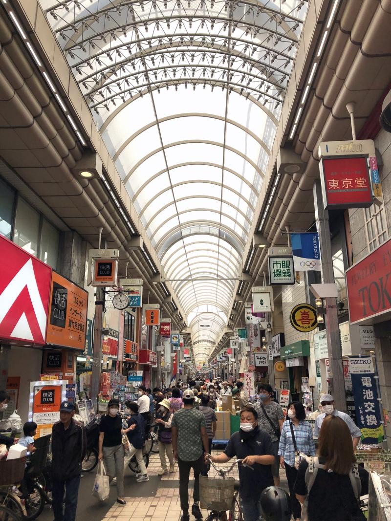 Shotengai busy Tokyo